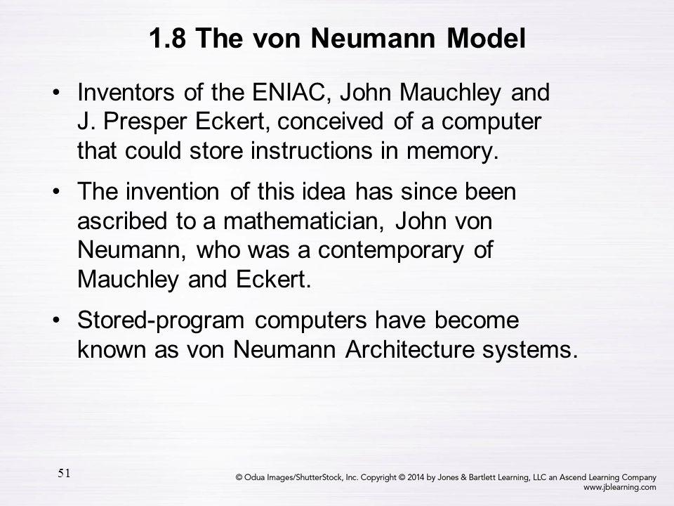 1.8 The von Neumann Model