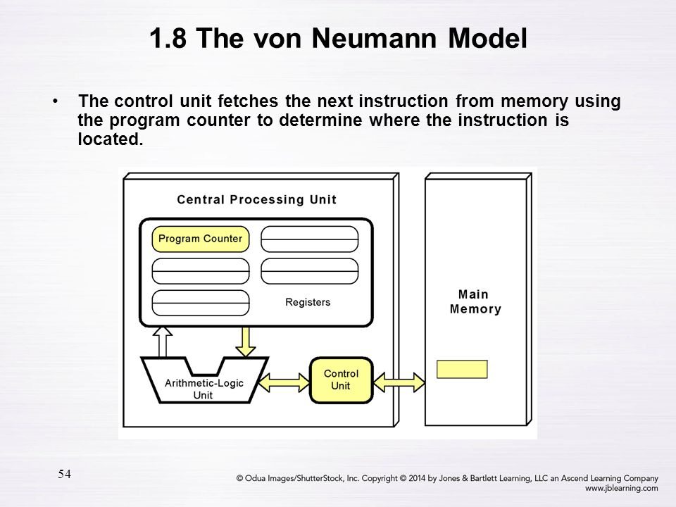 1.8 The von Neumann Model