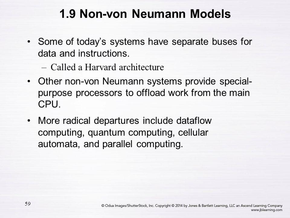 1.9 Non-von Neumann Models