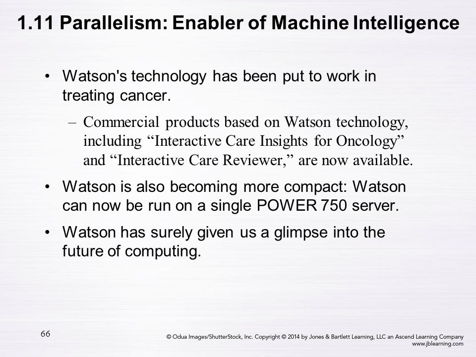 1.11 Parallelism: Enabler of Machine Intelligence