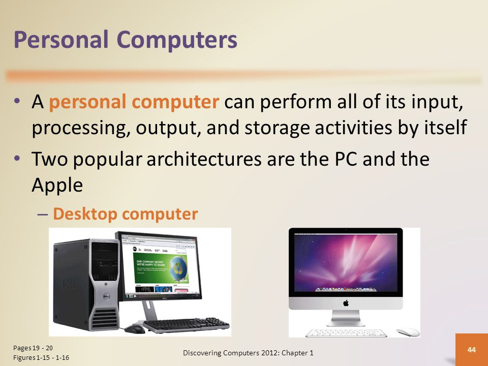 Discovering Computers 2012: Chapter 1