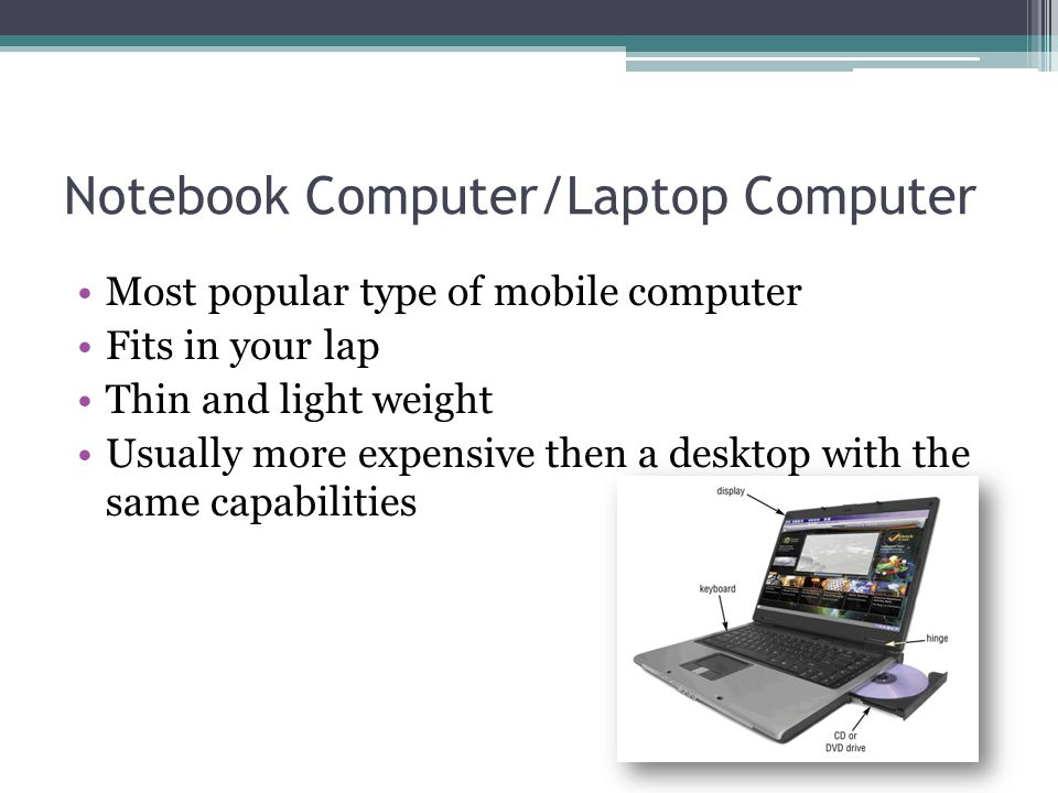 Notebook Computer/Laptop Computer