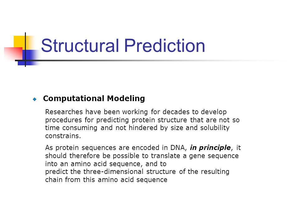 Structural Prediction