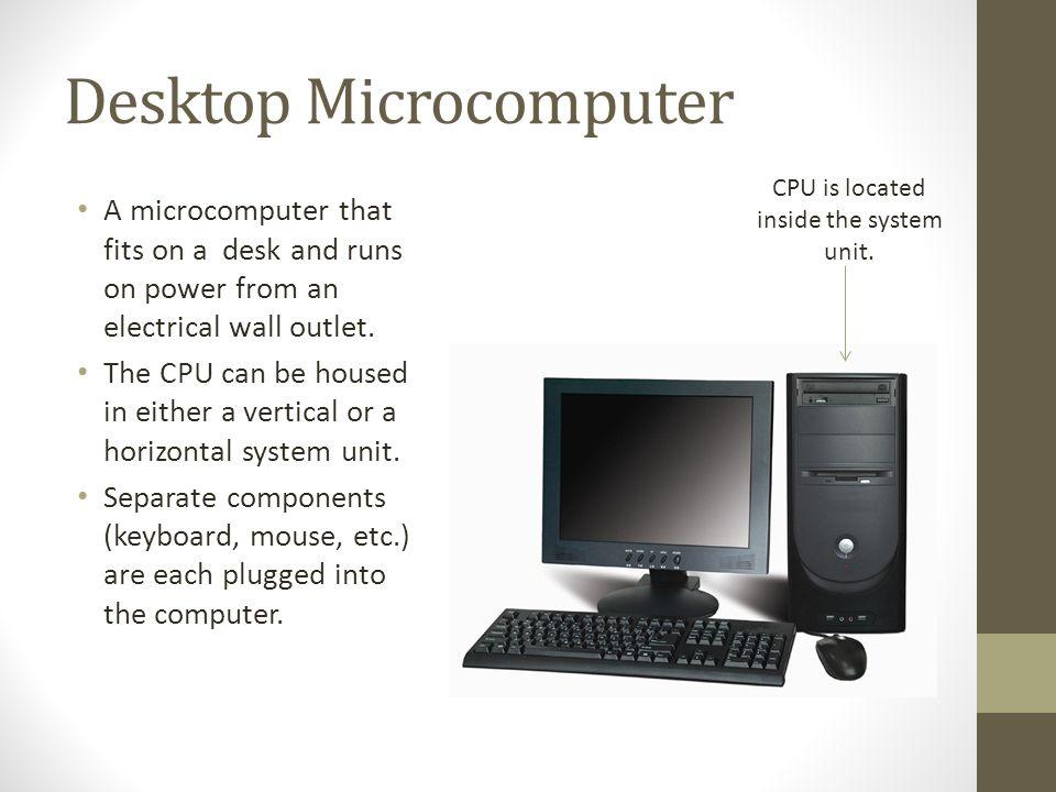 Desktop Microcomputer