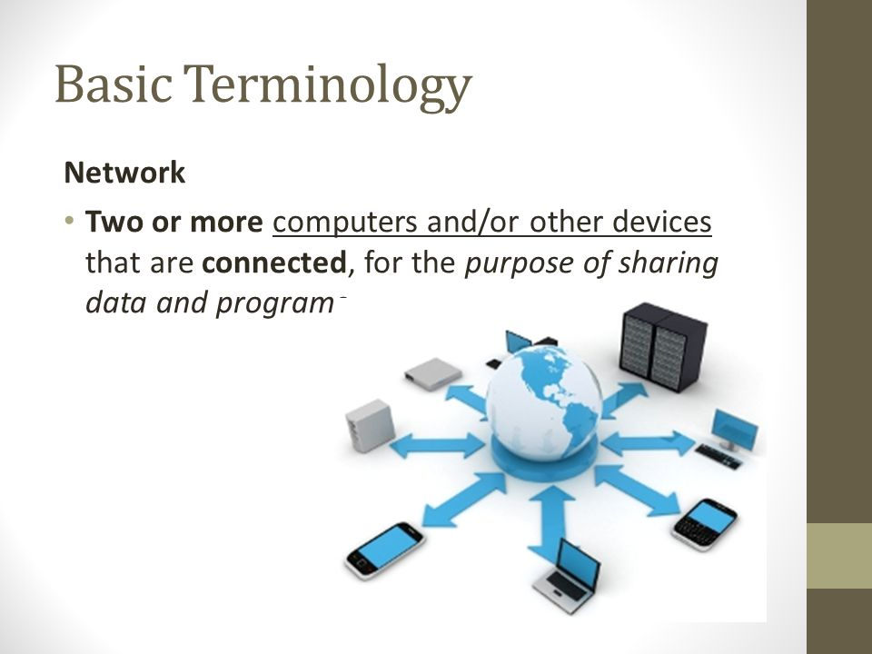 Basic Terminology Network