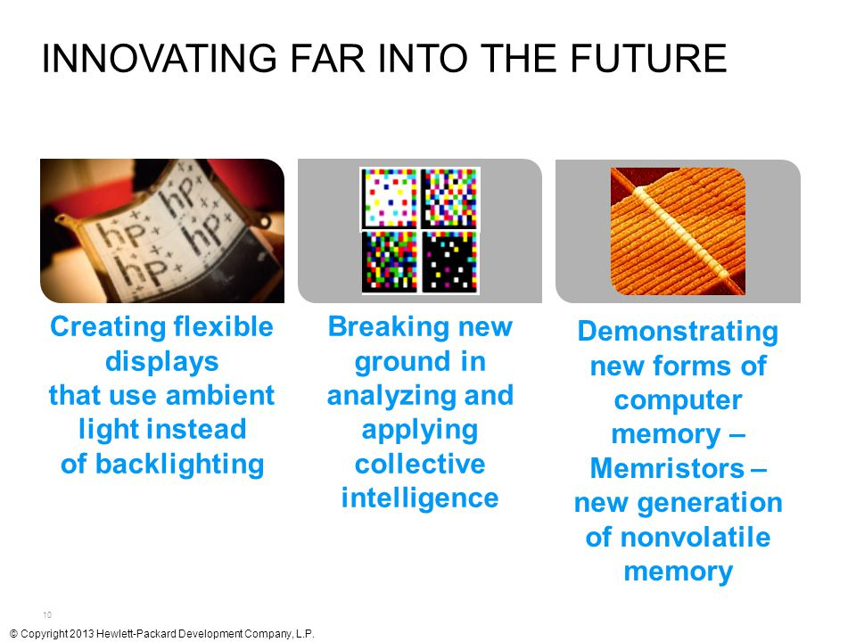 Innovating far into the future