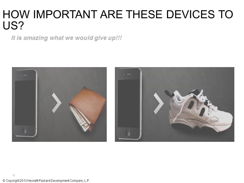 How Important are These Devices to Us