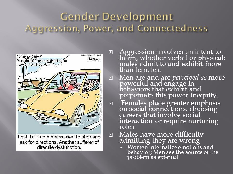 Gender Development Aggression, Power, and Connectedness