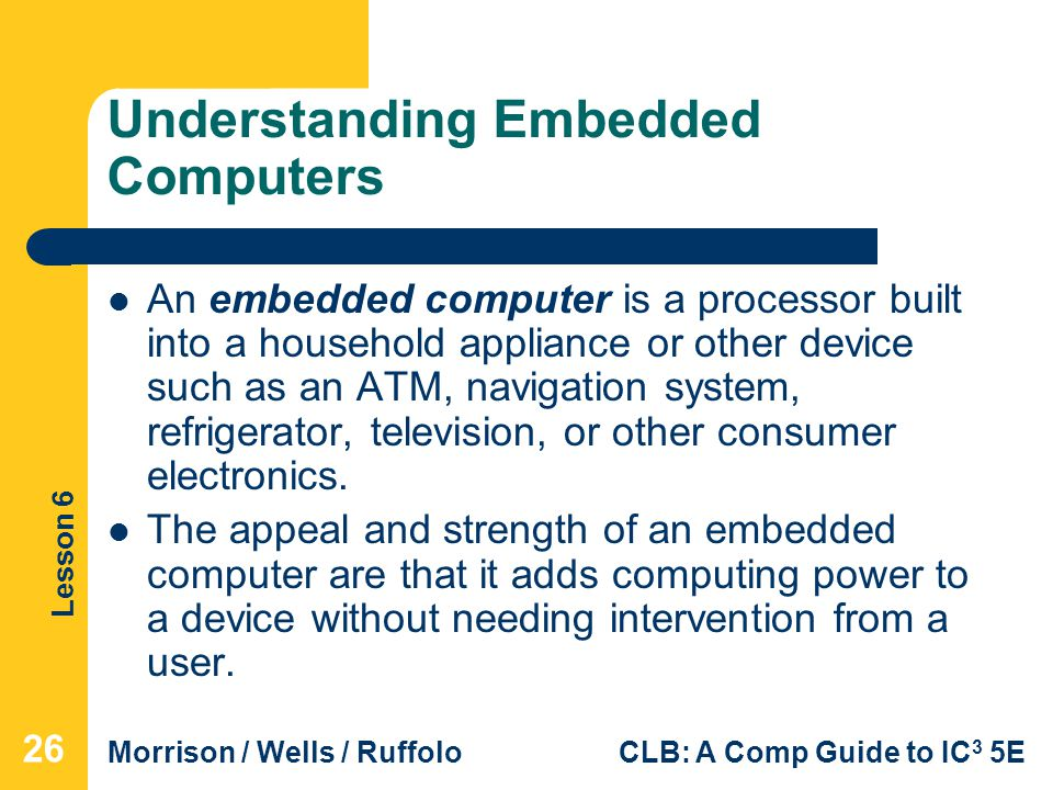 Understanding Embedded Computers