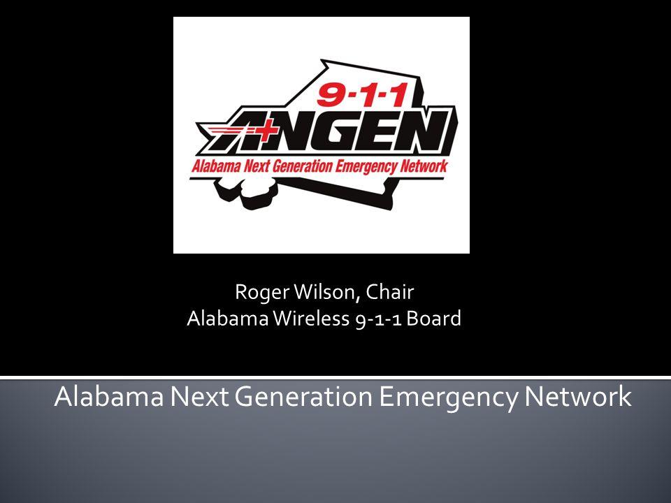 Alabama Next Generation Emergency Network