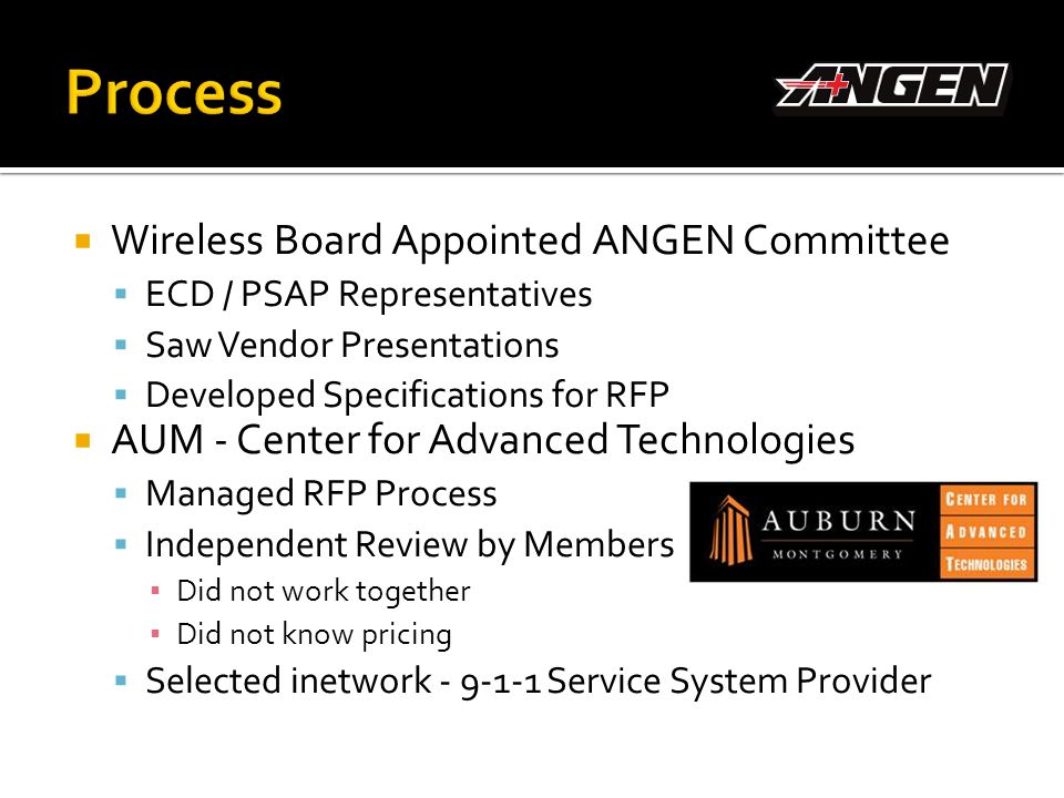 Process Wireless Board Appointed ANGEN Committee