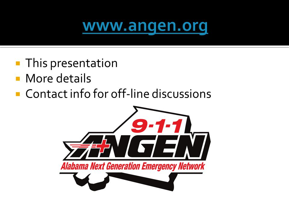 www.angen.org This presentation More details
