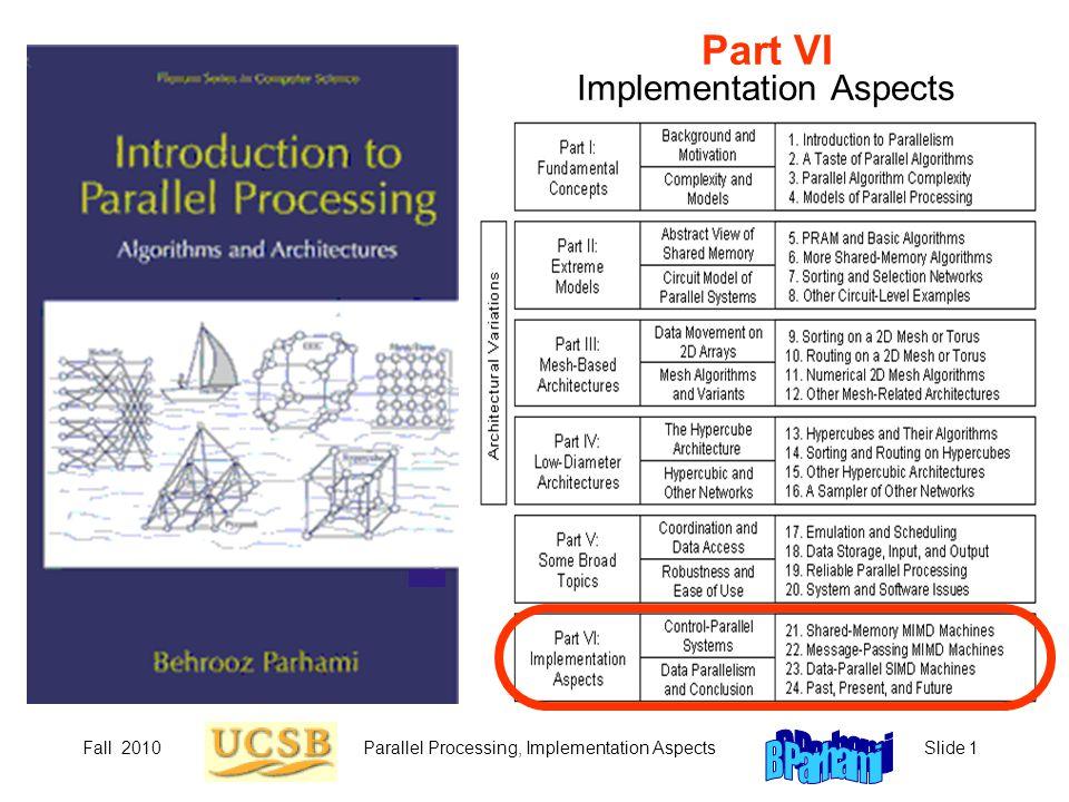 Part VI Implementation Aspects
