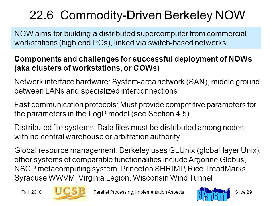 22.6 Commodity-Driven Berkeley NOW