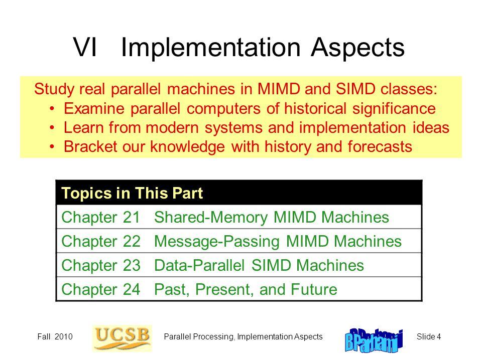 VI Implementation Aspects