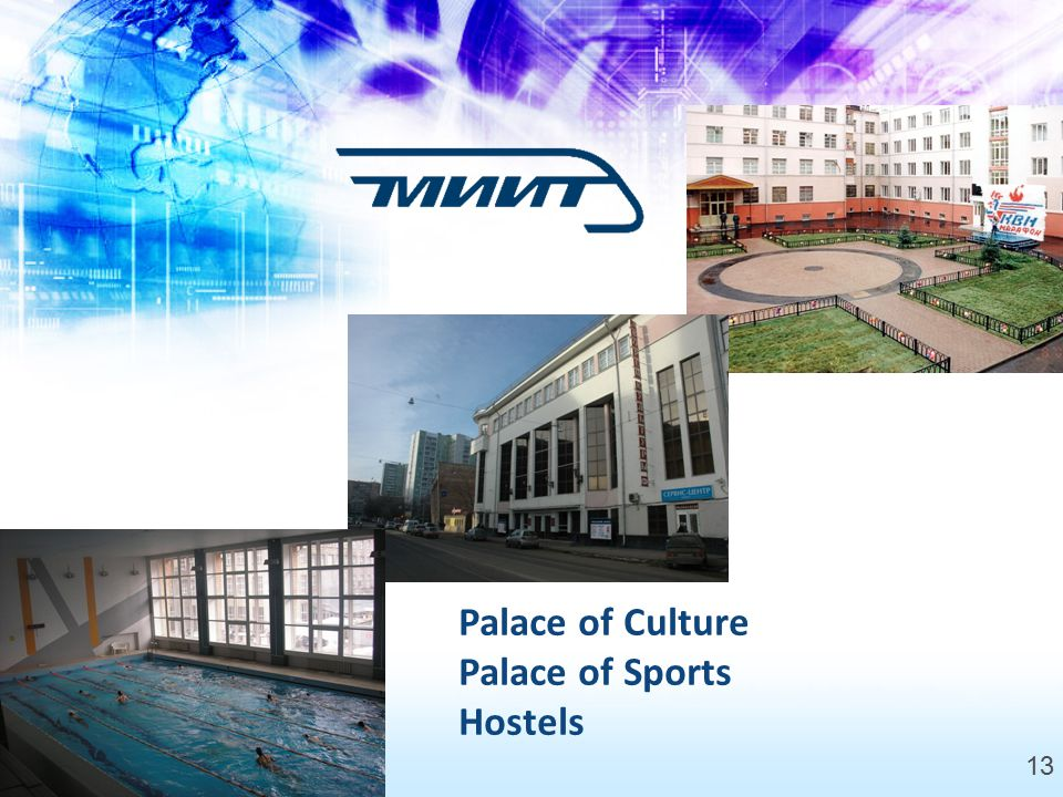 Palace of Culture Palace of Sports Hostels