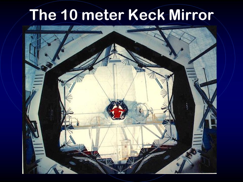 The 10 meter Keck Mirror