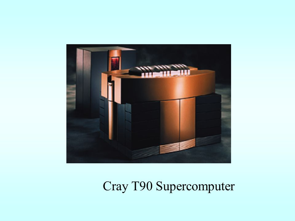 Cray T90 Supercomputer