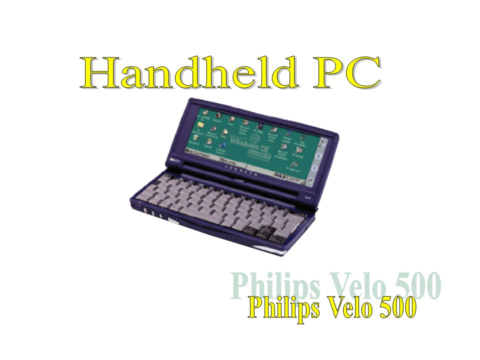 Handheld PC Philips Velo 500
