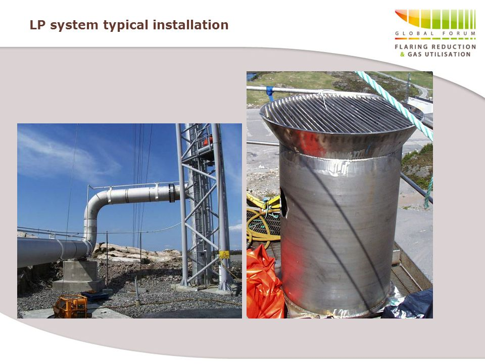 LP system typical installation