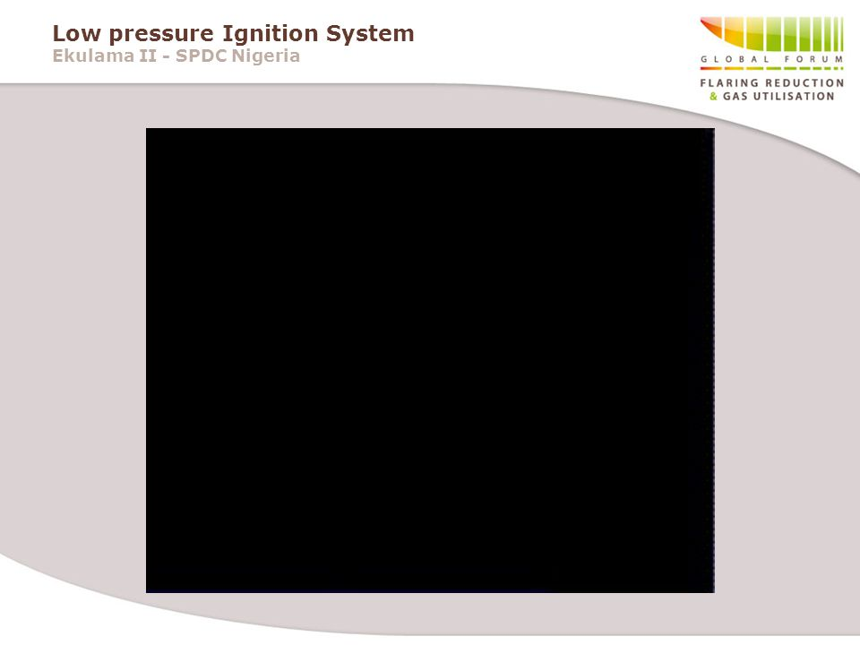 Low pressure Ignition System Ekulama II - SPDC Nigeria