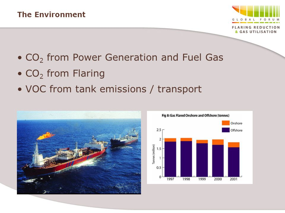 CO2 from Power Generation and Fuel Gas CO2 from Flaring