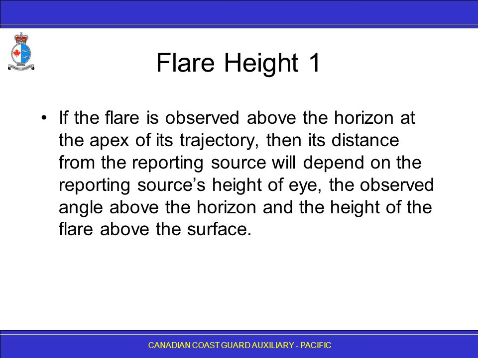 Flare Height 1