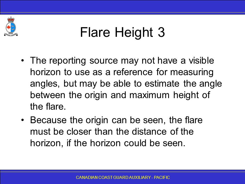 Flare Height 3