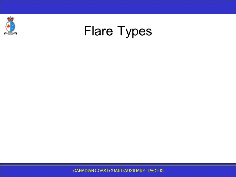 Flare Types