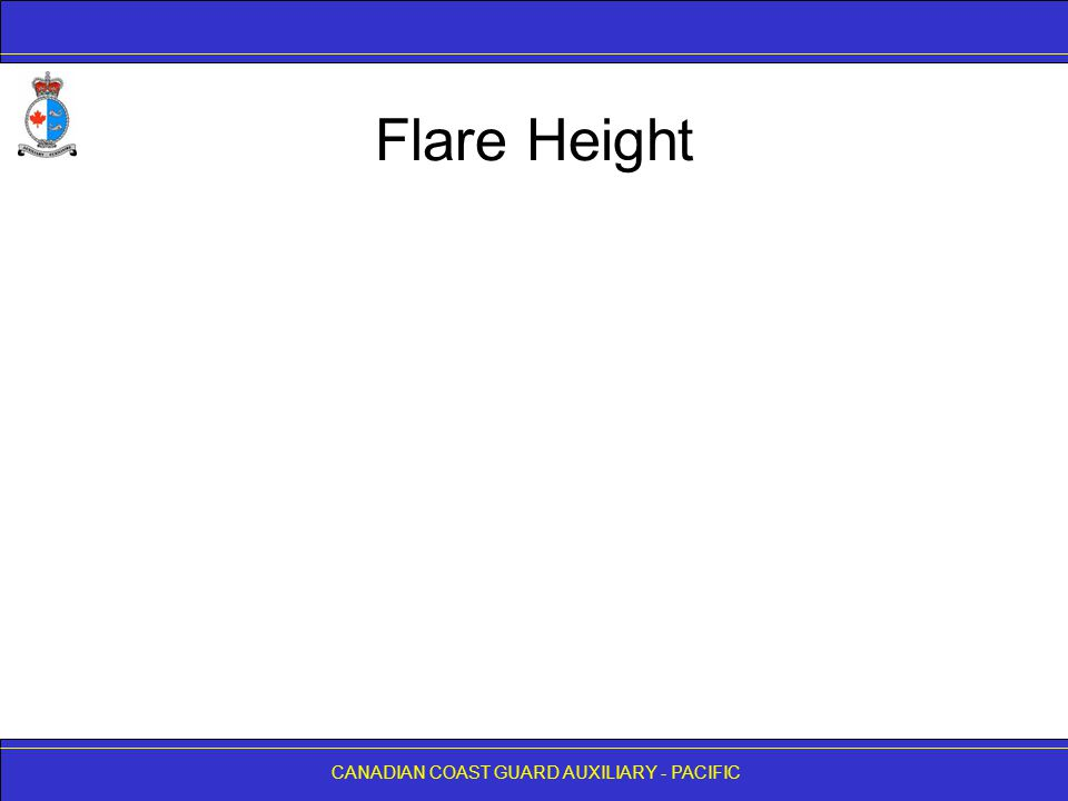 Flare Height