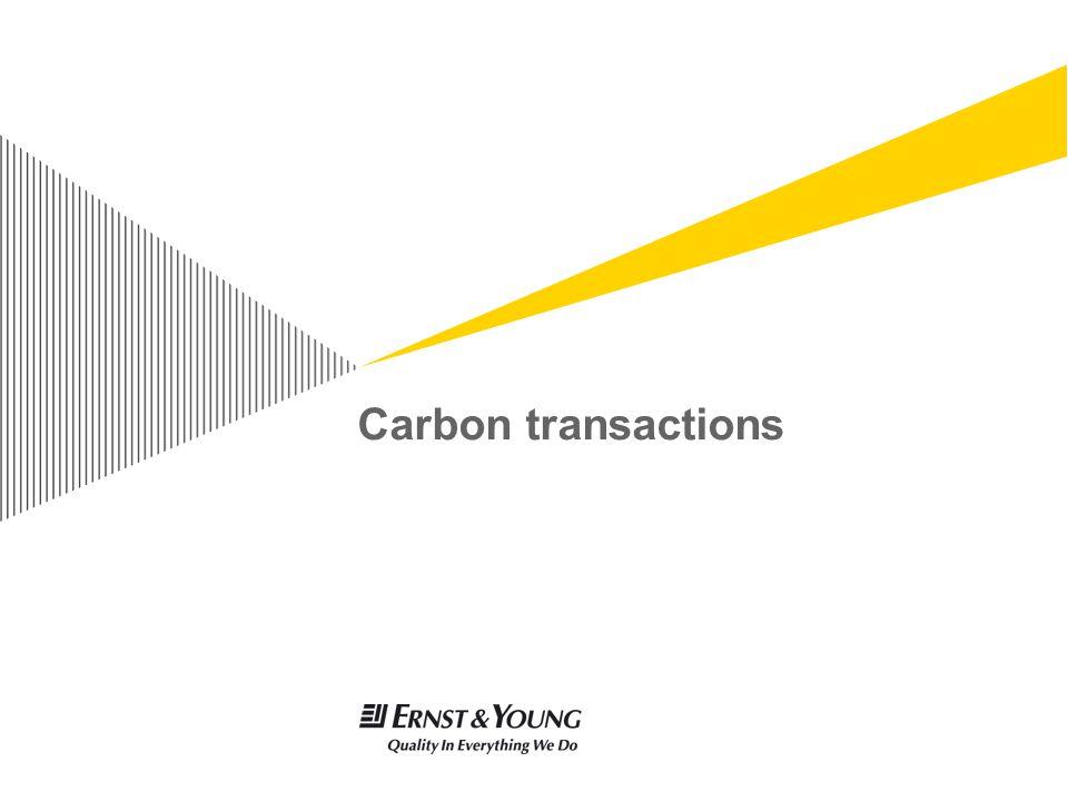 Carbon transactions