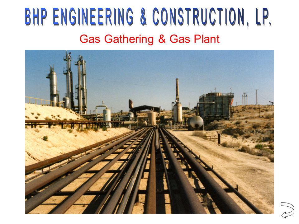 Gas Gathering & Gas Plant