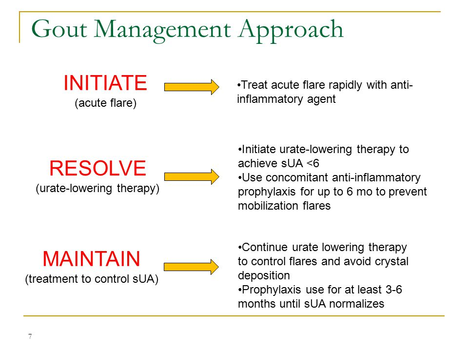 Gout Management Approach