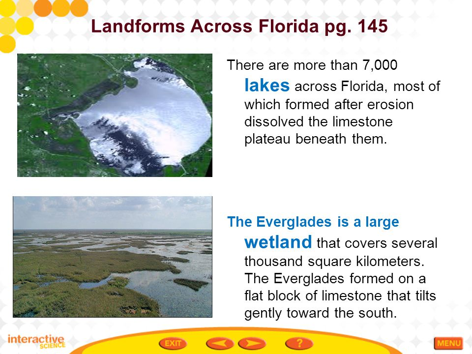 Landforms Across Florida pg. 145