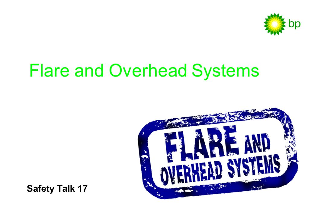 Flare and Overhead Systems