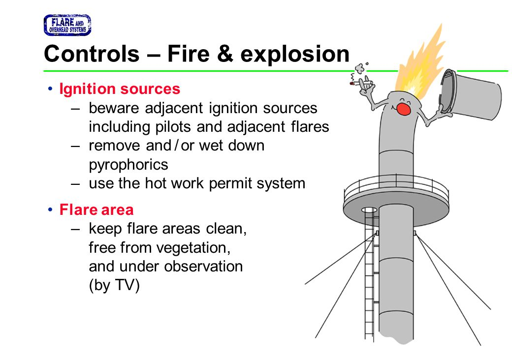 Controls – Fire & explosion