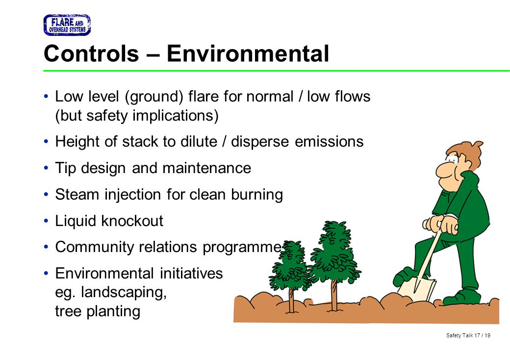 Controls – Environmental