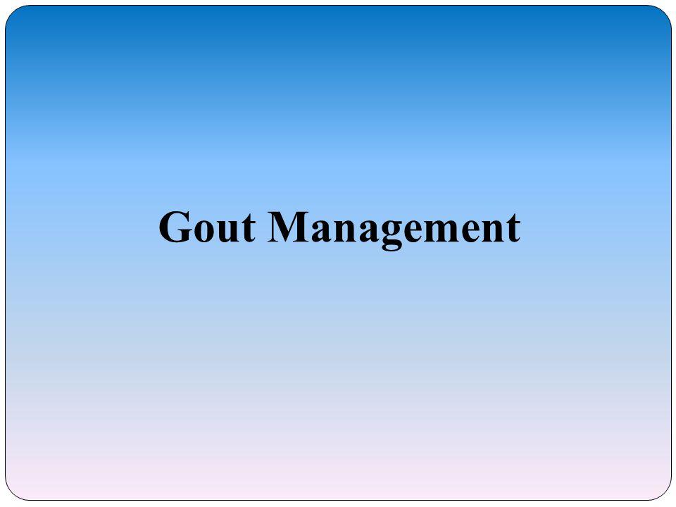 Gout Management