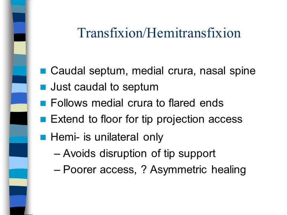 Transfixion/Hemitransfixion