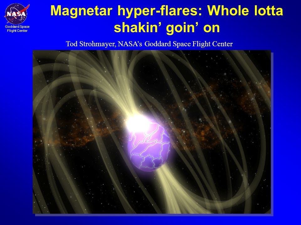 Magnetar hyper-flares: Whole lotta shakin' goin' on