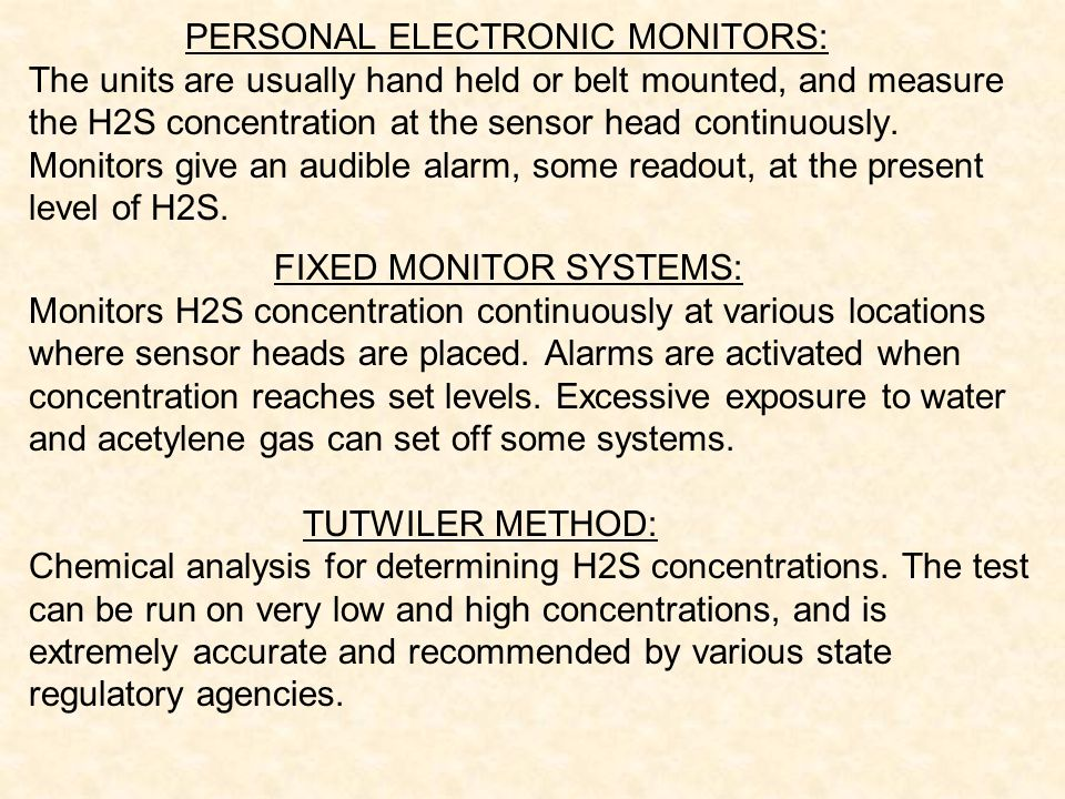 PERSONAL ELECTRONIC MONITORS: