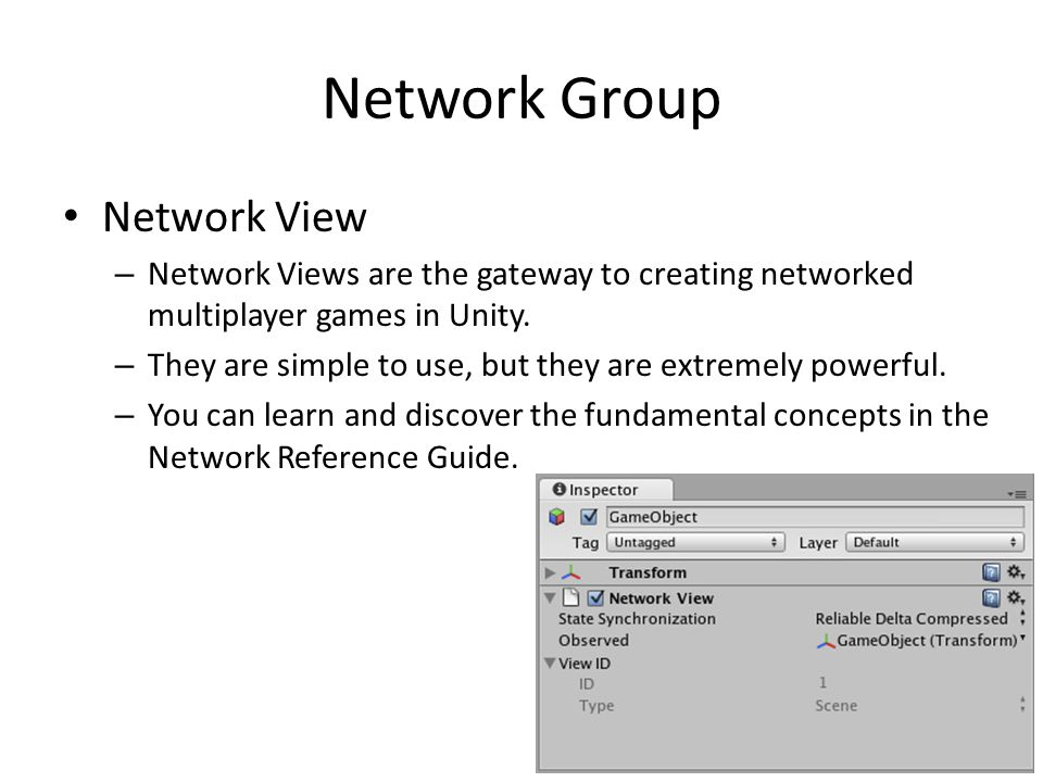 Network Group Network View