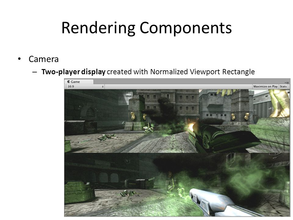 Rendering Components Camera