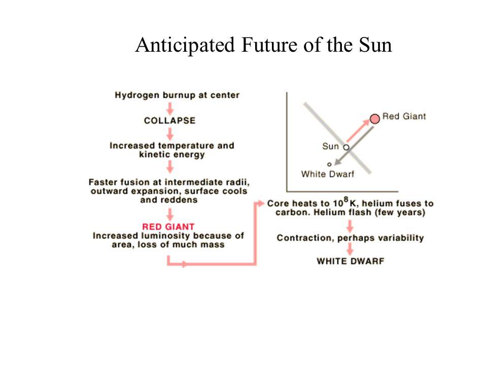 Anticipated Future of the Sun