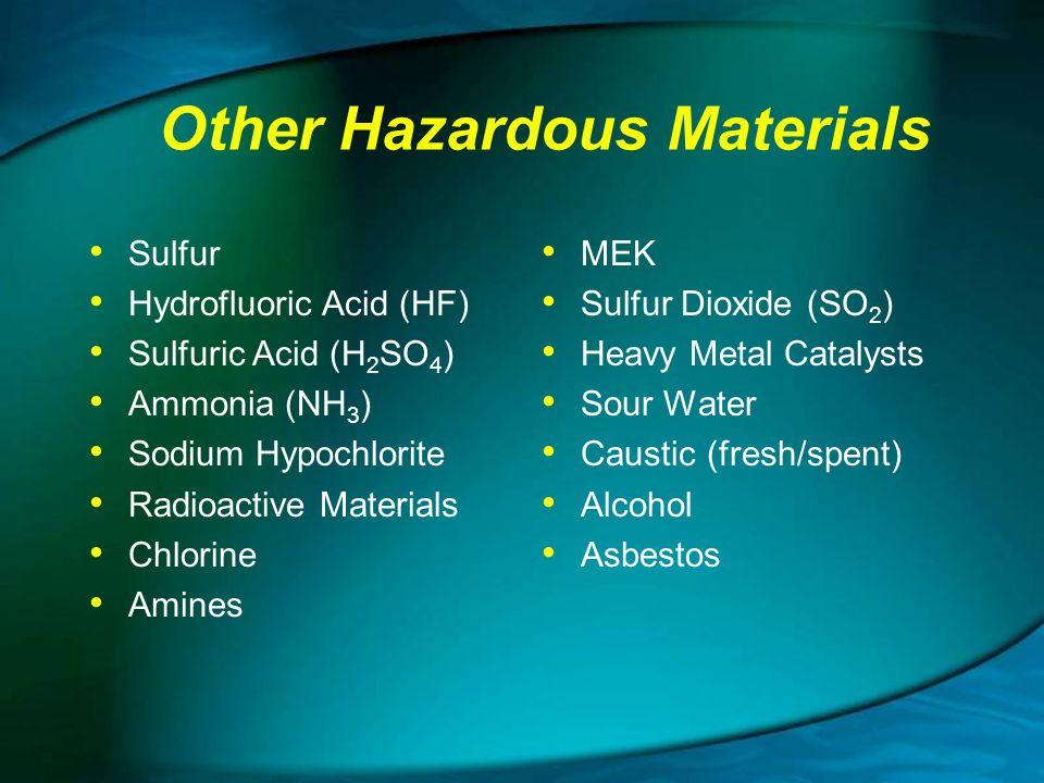 Other Hazardous Materials