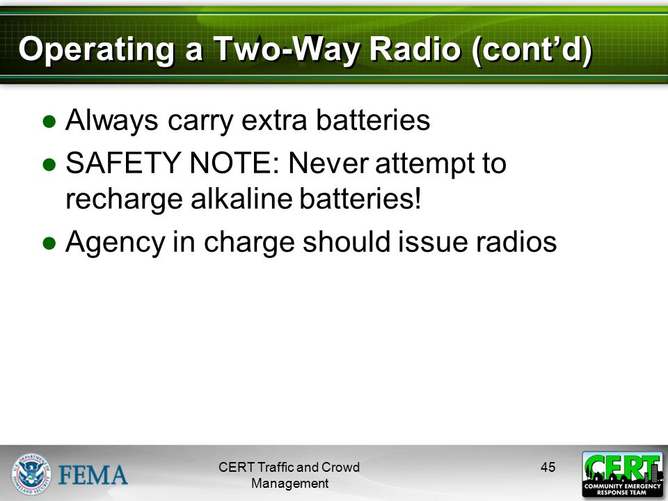 Radio Communication Tips