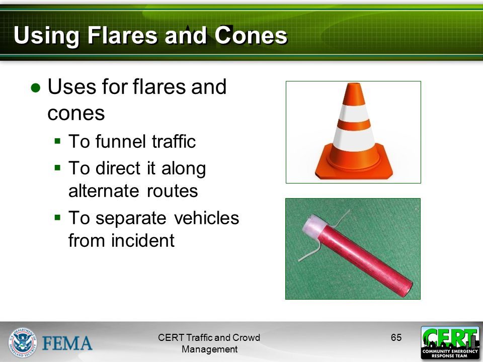 Flare and Cone Patterns