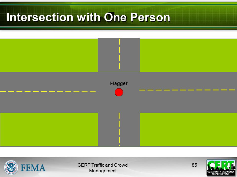 Intersection with More Than One Person