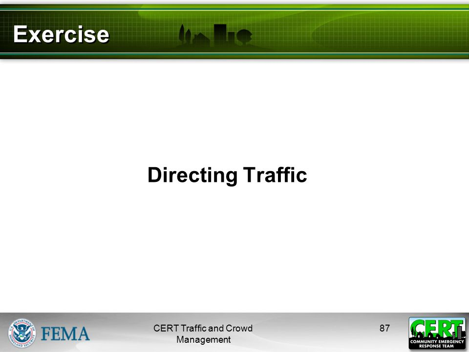 Develop a Traffic Management Plan