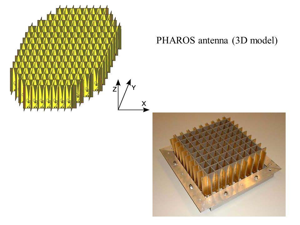 PHAROS antenna (3D model)